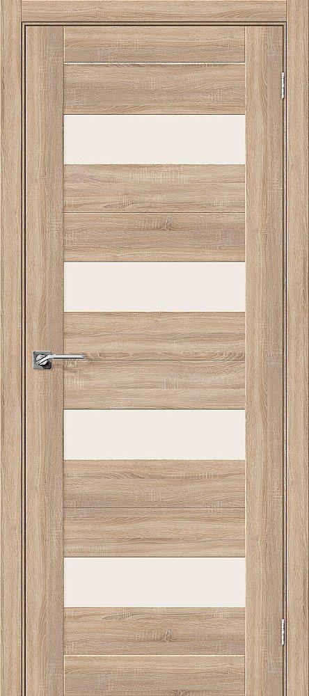 Дверь межкомнатная Эко Шпон Порта-23 Light Sonoma