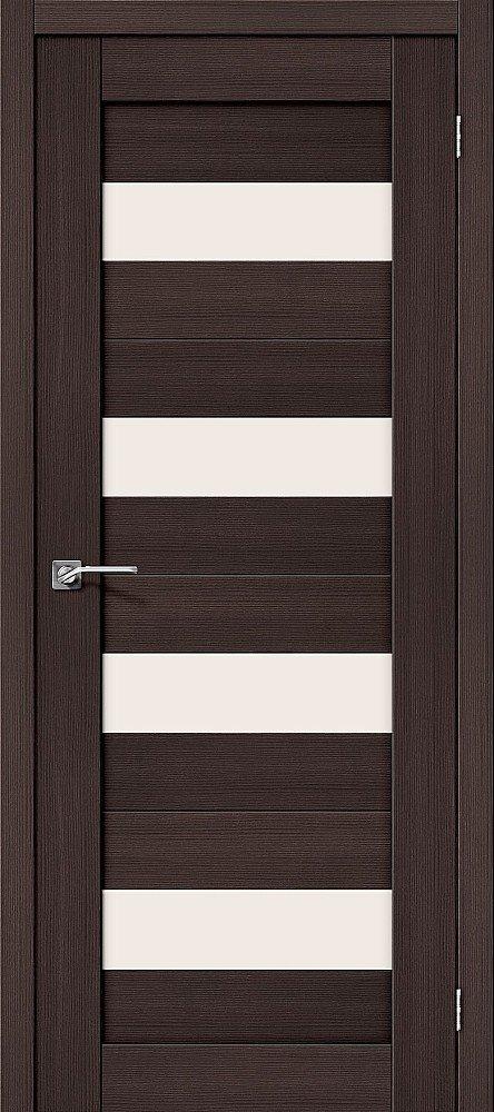 Дверь межкомнатная Эко Шпон Порта-23 Wenge Veralinga